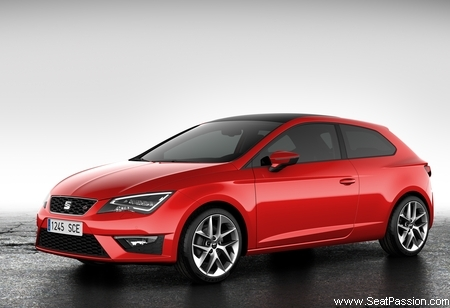 seat leon sc 3 portes d voil e. Black Bedroom Furniture Sets. Home Design Ideas
